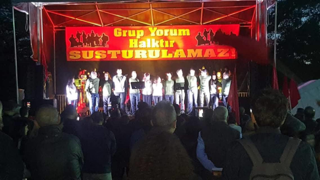 Grup Yorum Rebstockpark Frankfurt am Main